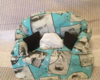 Tissue Box Couch Cover Elvis
