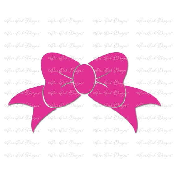 Download Bow SVG File svg / dxf / pdf / png / jpg Files for Cameo