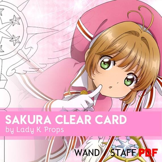 Card captor sakura clear card wand staff cosplay pdf blueprint card captor sakura clear card wand staff cosplay pdf blueprint pattern from ladykprops on etsy studio malvernweather Gallery