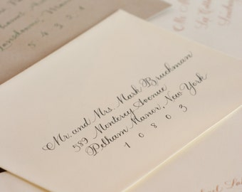 Hand Calligraphy Envelope Addressing