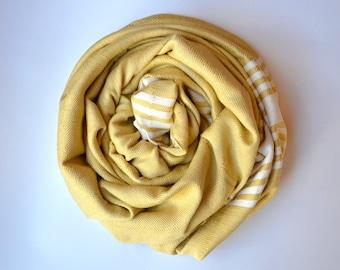 Express Shipping BAMBOO Turkish Towel / peshtemal / spa pool beach / fouta / shawl handwoven bath towel
