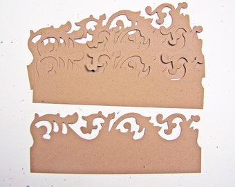 Tim Holtz On the Edge Scrollwork set of 4