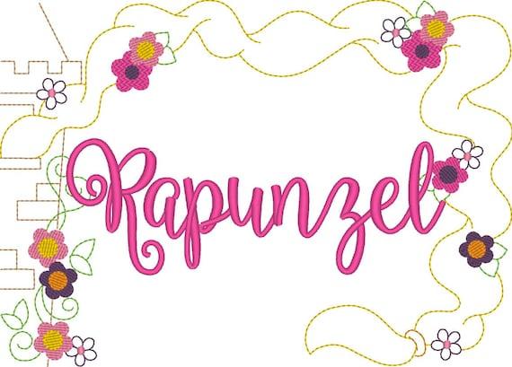 SAMPLE SALE, Disney Princess Frame Inspired Shirt - Rapunzel Birthday Shirt - Tangled - Disney Vacation - Disney Princess Birthday