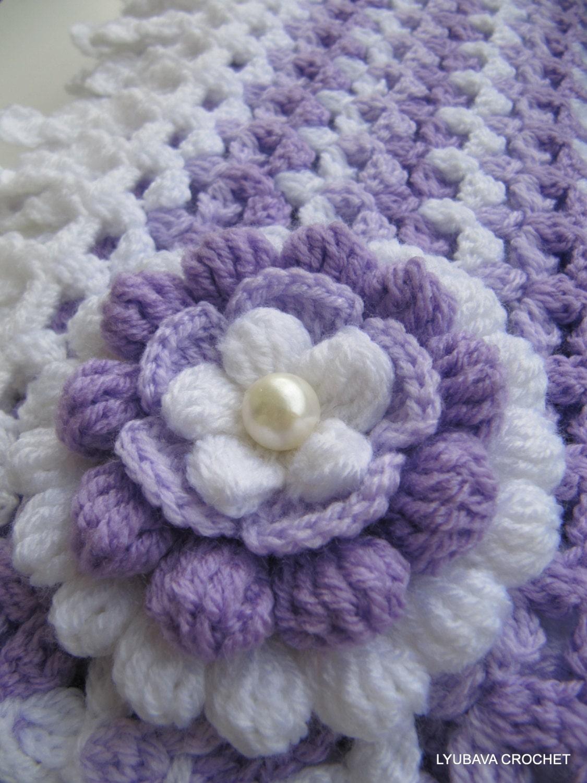 Crochet flower pattern lilac mosaic flower 3d flowers crochet diy crochet flower pattern lilac mosaic flower 3d flowers crochet diy gift for her instant download pdf pattern 75 lyubava crochet izmirmasajfo Image collections