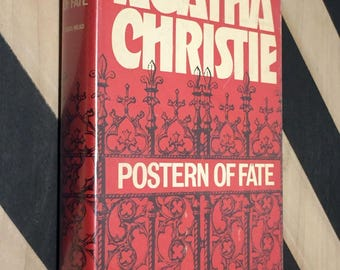 Postern of Fate by Agatha Christie (1973) hardcover book