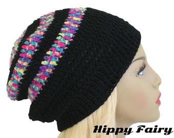 Crochet beanie, Crochet hat, Crochet hat beanie, slouch hat -sale