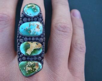 Royston turquoise ring size 8