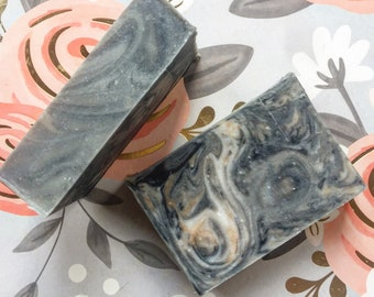 Paul Bunyan Soap - Masculine Soap - Handmade Soap - Cedarwood Soap - Bergamot Soap - Cold Process - Gift for Men - Vegan Soap - Soaperie