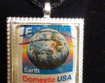 Vintage Postage Stamp - USA  EARTH 1988