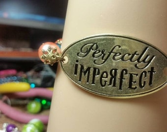 Perfectly Imperfect Word Bracelet