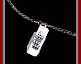 BARSE NECKLACE  STERLING Silver Pendant Retail Tag Still On 200.00!