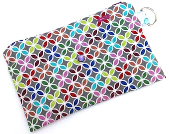 Spoonie Bag (ABSTRACT FLORAL) - portable self-care kit for grounding when overstimulated or triggered.