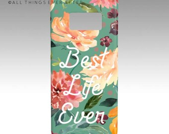 JW Gift   Pioneer Gift  Best Life Ever   Galaxy S 8 Case Teal