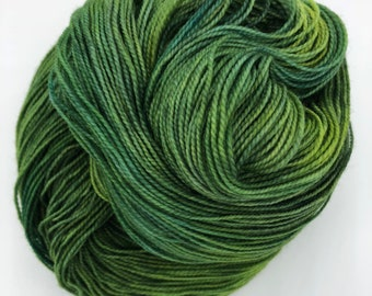 I haven't the froggiest 4ply hand dyed merino/nylon sock yarn 100g