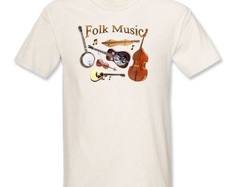 Folk Music T-Shirt