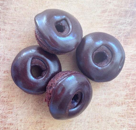 Chocolate mini donuts