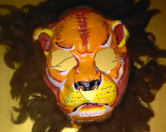 Vintage Halloween Mask Vintage (Vacuform)  ******1930's-1970's***** Great Decor Rare stuff Check them all out