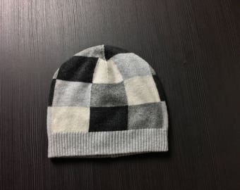 100% cashmere hat/ cashmere beanie/ outdoor hat/ cashmere hiking hat