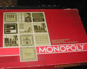 Vintage 1964 MONOPOLY Board Game