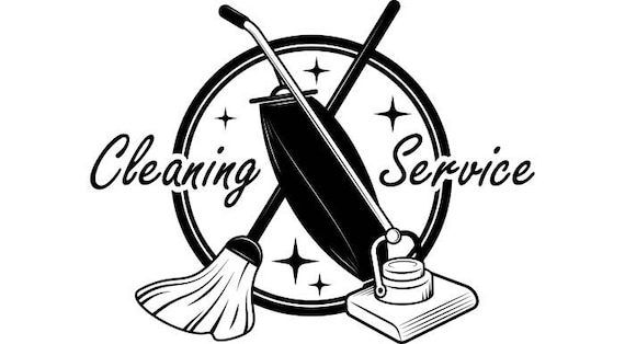 Cleaning Logo 9 Maid Service Housekeeper Housekeeping Clean