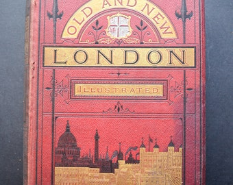 Antique London Old and New illustrated Vol III Book