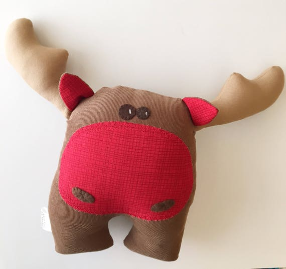 Handmade Moose Softie Discounted