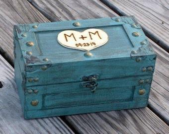 Baby Child Keepsake Box Memory Box Time Capsule Farmhouse Style