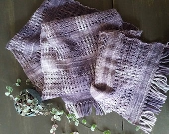 Hand Woven Lace Scarf 'Gorthuher'