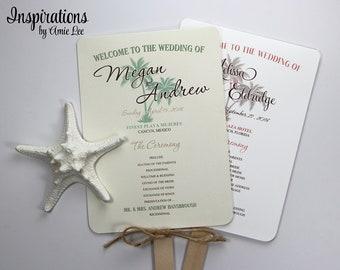 Wedding Program Fans, Ceremony Fans, Wedding Fans