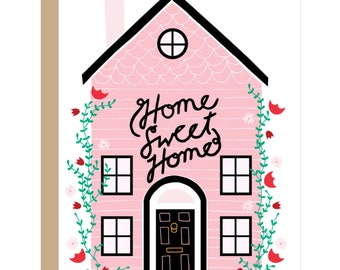 Home Sweet Home-Karte