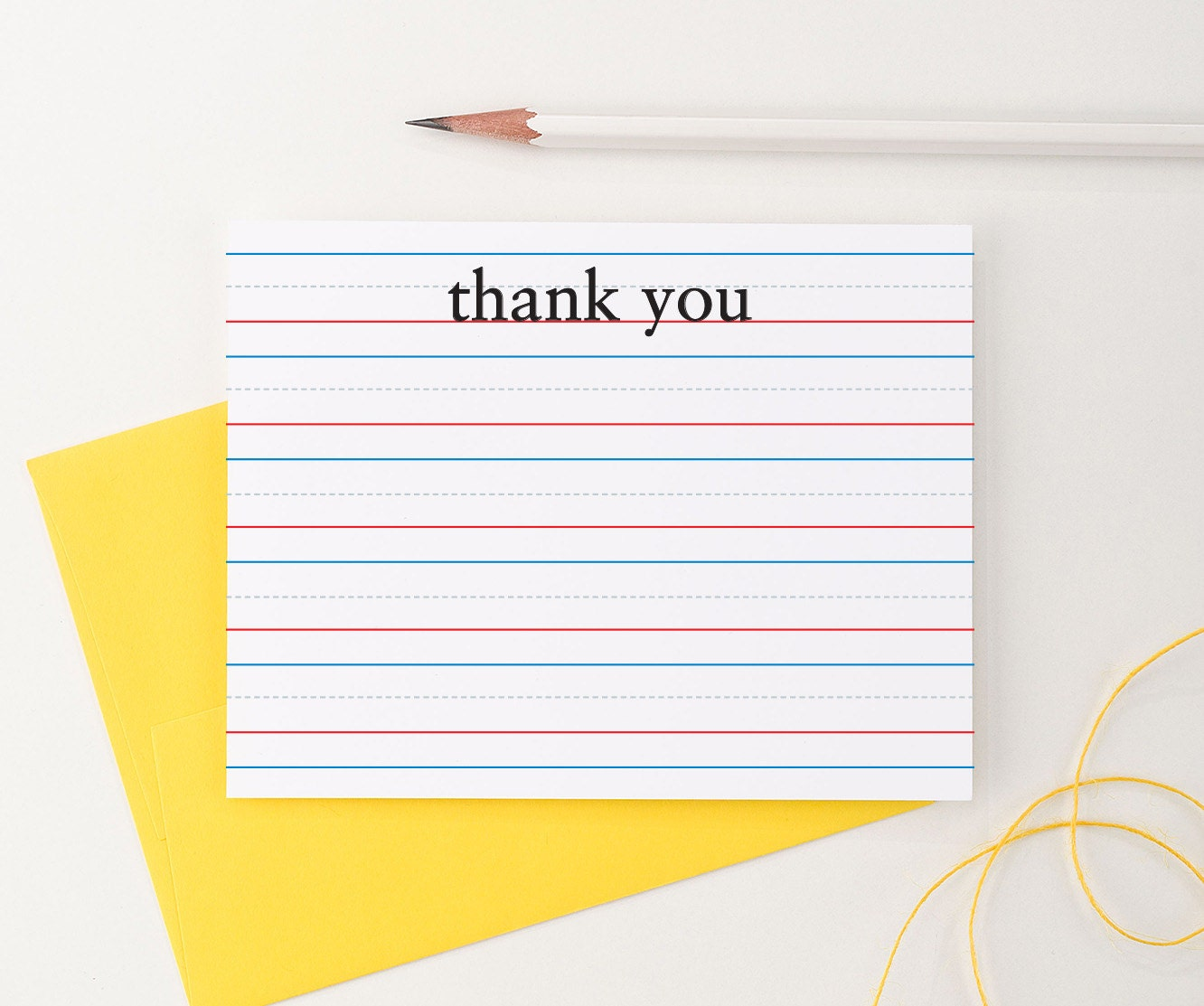 🔎zoom  Lined Letter Writing Paper