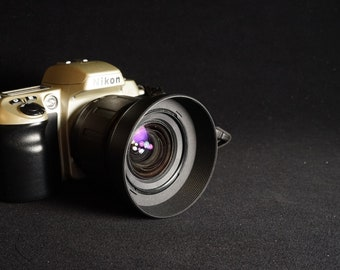 Nikon N60 Camera w/ Tamron Aspherical 28-80mm 3.5-5.6 Lens & Lens Hood