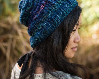 Cabled Beanie Pattern