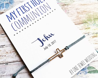First Communion Favors • My First Holy Communion Favors • Cross Bracelets