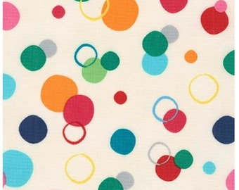 Garden Circles from Robert Kaufman's Creatures and Critters 3 Collection