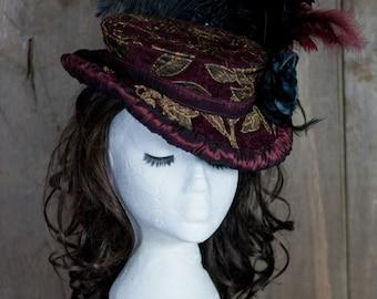 Hat Pattern, Victorian Hat, Digital Pattern, Steampunk< Cosplay, Ripper street Victorian Hat making Pattern Download, PDF Pattern