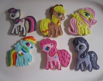 24 My Little Pony Fan Art Cookies
