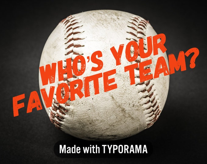 "Order your Fav Team - Designer 1"" Dog Collar | CupcakePups Dog Collars | Baseball"