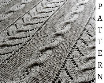 The Aspen Blanket Knitting Pattern
