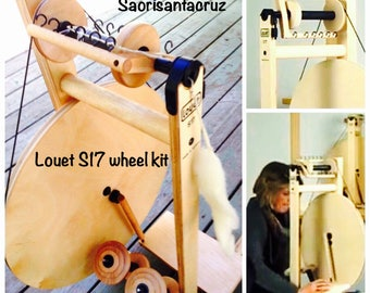 Louet S17 Spinning Wheel physically in stock ready to Pick Up or ready to ship today  : saorisantacruz