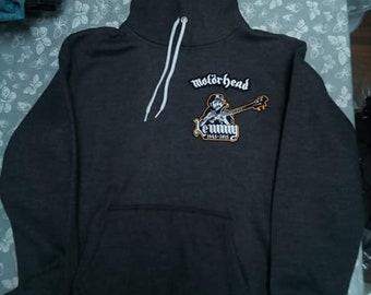 Lemmy Hoody Dark grey size XL.