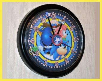 Sonic the Hedgehog Wall Clock