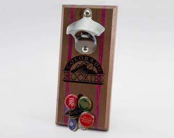 Colorado Rockies Magnetic Bottle Opener
