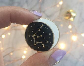 Constellation Enamel Pin - All Star Signs - CapricornAquarius Pisces Aries Taurus Gemini Cancer Leo Virgo Libra Scorpio Sagittarius