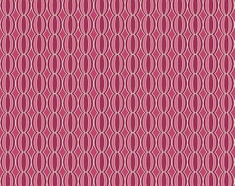Botanique by Lila Tueller for Riley Blake ~ Botanique Berry Circles ~ Woven Cotton by the Yard