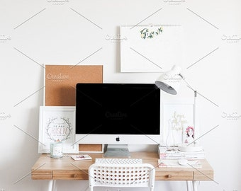 Styled Stock Photo   Blogger Desk   Blog stock photo, stock image, stock photography, blog photography