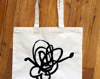 Scribbles Tote