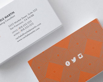 Business card design etsy reheart Choice Image