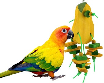 910 Pear Chipper Bird Toy