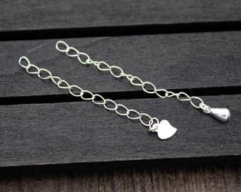 5cm Sterling Silver Extender Chain, Sterling Silver Extender, Sterling Silver Extend Chain
